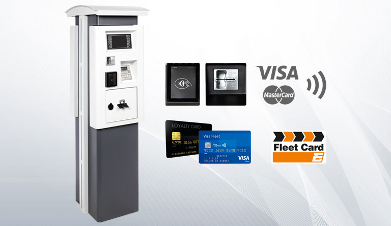 Cashless Outdoor Payment Terminal (COPT) EMV II